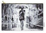 Under The Umbrella - Ballpoint Pen Art Carry-all Pouch