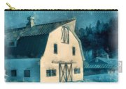 Under The Vermont Moonlight Watercolor Carry-all Pouch