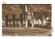 Under The Viaduct B Panoramic Urban View Carry-all Pouch