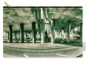 Under The Viaduct C Panoramic Urban View Carry-all Pouch