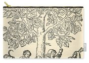 Under The Village Linden Tree Carry-all Pouch