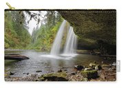 Under Upper Butte Creek Falls In Autumn Carry-all Pouch