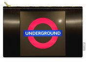 Underground Sign Carry-all Pouch