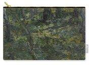 Undergrowth Saint Remy De Provence  July 1889 Vincent Van Gogh 1853  1890 Carry-all Pouch