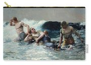 Undertow Carry-all Pouch by Winslow Homer