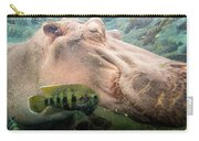 Underwater Hippo Carry-all Pouch