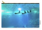 Underwater Manta Background Carry-all Pouch