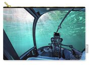 Underwater Ship Blue Ocean Carry-all Pouch