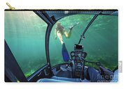 Underwater Ship In Coral Reef Carry-all Pouch