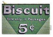 Uneeda Biscuit Vintage Sign #2 Carry-all Pouch
