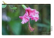Unfolding Of A Hibiscus Carry-all Pouch