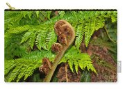 Unfolding Treefern Carry-all Pouch