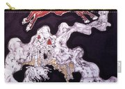 Unicorn And Red Bull Carry-all Pouch