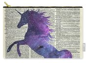 Unicorn In Space Carry-all Pouch