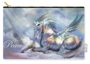 Unicorn Of Peace Card Carry-all Pouch