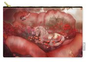 Unicorn Of The Poppies Carry-all Pouch