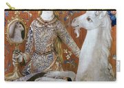 Unicorn Tapestry, 15th C Carry-all Pouch