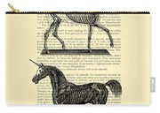 Unicorns Anatomy Carry-all Pouch