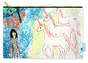 Unicorns Come Home Carry-all Pouch