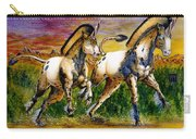 Unicorns In Sunset Carry-all Pouch