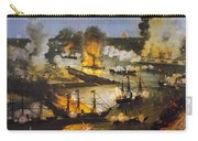 Union Bombardment, 1862 Carry-all Pouch