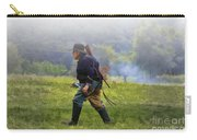 Union Cavalryman On Foot Carry-all Pouch