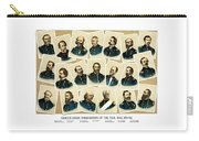 Union Commanders Of The Civil War Carry-all Pouch