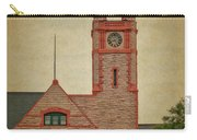 Union Pacific Railroad Depot Cheyenne Wyoming 01 Textured Carry-all Pouch