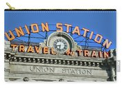 Union Station Sign Carry-all Pouch