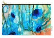 Unique Art - A Touch Of Red - Sharon Cummings Carry-all Pouch