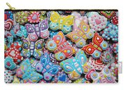 Unique Colorful Honey Cookies , Butterfly Shaped  Carry-all Pouch