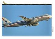 United Airbus A320-232 N475ua Friend Ship Phoenix Sky Harbor November 11 2017 Carry-all Pouch