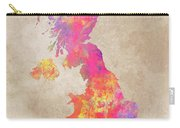United Kingdom Map Carry-all Pouch