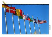 United We Stand Flags Art Carry-all Pouch
