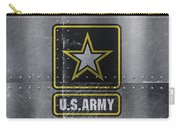 United States Army Logo On Steel Carry-all Pouch
