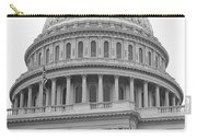 United States Capitol Building Bw Carry-all Pouch