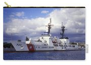 United States Coast Guard Cutter Rush Carry-all Pouch by Michael Wood