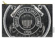 United States Coast Guard Emblem Polished Granite Carry-all Pouch
