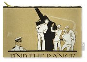 United States Navy Recruitment Poster From 1918 Carry-all Pouch