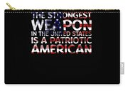 United States Patriotic American Carry-all Pouch