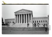 United States Supreme Court Building Bw Carry-all Pouch