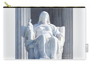 United States Supreme Court, The Contemplation Of Justice Statue, Washington, Dc 2 Carry-all Pouch