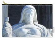 United States Supreme Court, The Contemplation Of Justice Statue, Washington, Dc 4 Carry-all Pouch