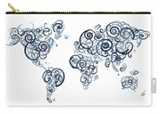 University Of British Colombia Colors Swirl Map Of The World Atl Carry-all Pouch