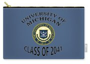 University Of Michigan Class Of 2041 Carry-all Pouch
