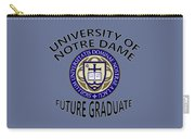 University Of Notre Dame Future Graduate Carry-all Pouch