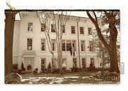 University Of South Carolina President's Residence In Sepia Tones Carry-all Pouch