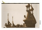 University Of Tampa Minarets With Old Postcard Framing Carry-all Pouch