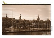University Of Tampa With River - Sepia Carry-all Pouch