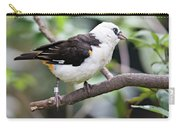 Unknown White Bird On Tree Branch Carry-all Pouch